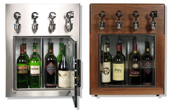 Cruvinet Ultra Series of Winebar storage and preserving systems