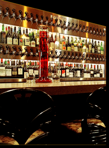 Custom 60+ faucet Cruvinet Wine Bar systems